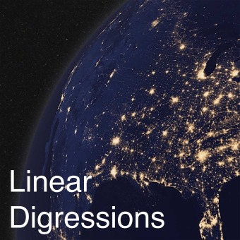 Linear Digressions podcast artwork