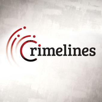 Crimelines True Crime podcast artwork