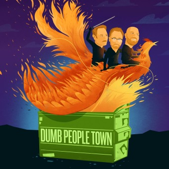 Dumb People Town podcast artwork