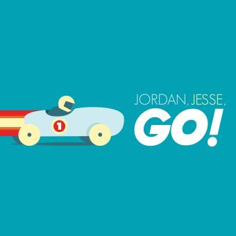 Jordan, Jesse, GO! podcast artwork
