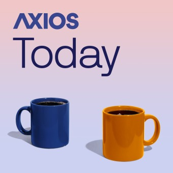 Axios Today podcast artwork