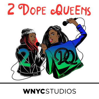 2 Dope Queens podcast artwork