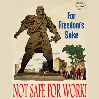 Not Safe For Work podcast artwork
