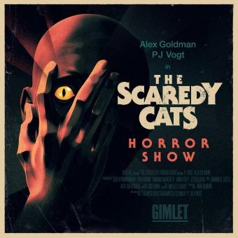 The Scaredy Cats Horror Show podcast artwork
