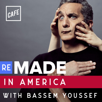 Remade in America with Bassem Youssef podcast artwork