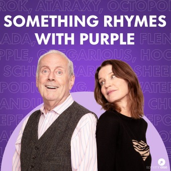 Something Rhymes with Purple podcast artwork