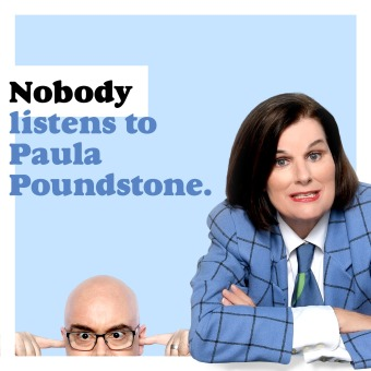 Nobody Listens to Paula Poundstone podcast artwork