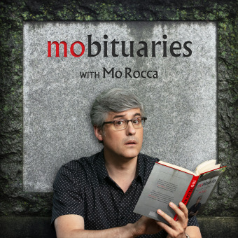 Mobituaries with Mo Rocca podcast artwork
