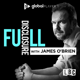 Full Disclosure with James O'Brien podcast artwork