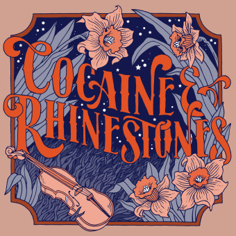 Cocaine & Rhinestones: The History of Country Music podcast artwork