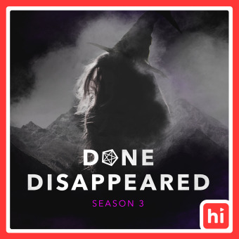 DONE DISAPPEARED podcast artwork