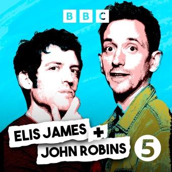 Elis James and John Robins podcast artwork
