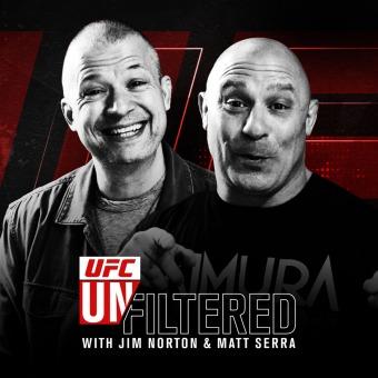 UFC Unfiltered with Jim Norton and Matt Serra podcast artwork