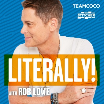 Literally! With Rob Lowe podcast artwork