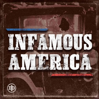 Infamous America podcast artwork