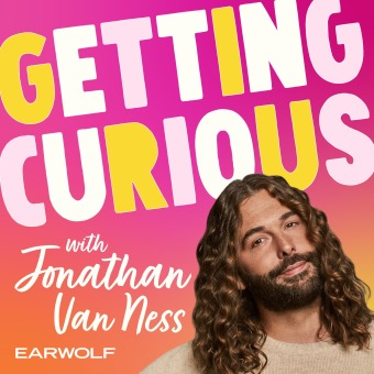 Getting Curious with Jonathan Van Ness podcast artwork
