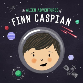 The Alien Adventures of Finn Caspian: Science Fiction for Kids podcast artwork