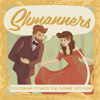 Shmanners podcast artwork