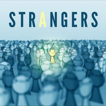 Strangers podcast artwork