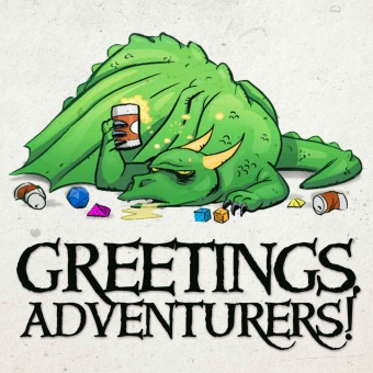 Greetings Adventurers - Dungeons and Dragons 5e Actual Play podcast artwork