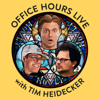 Office Hours Live with Tim Heidecker podcast artwork
