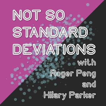 Not So Standard Deviations podcast artwork