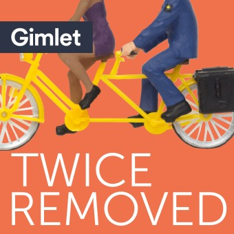 Twice Removed podcast artwork