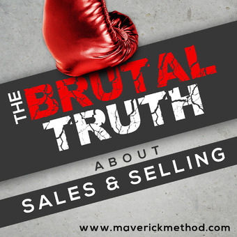 The Brutal Truth About Sales & Selling - B2B Social SaaStr Cold Calling SaaS Salesman Advanced Hacker podcast artwork