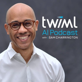The TWIML AI Podcast (formerly This Week in Machine Learning & Artificial Intelligence) podcast artwork