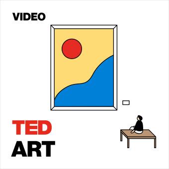 TED Talks Art podcast artwork