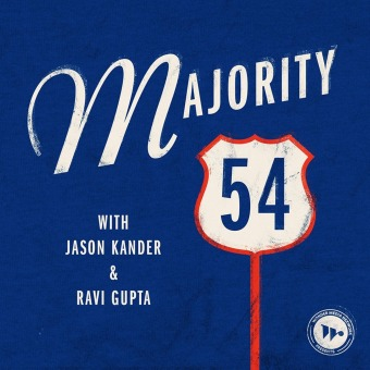 Majority 54 podcast artwork