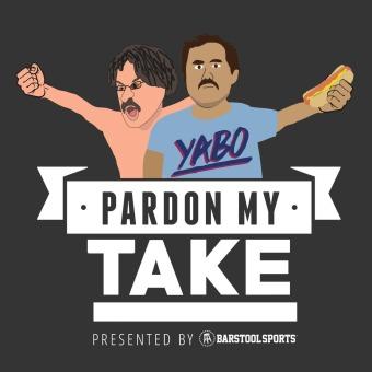 Pardon My Take podcast artwork
