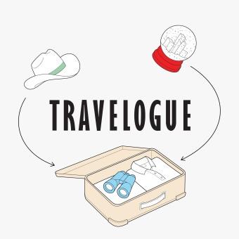 Travelogue podcast artwork