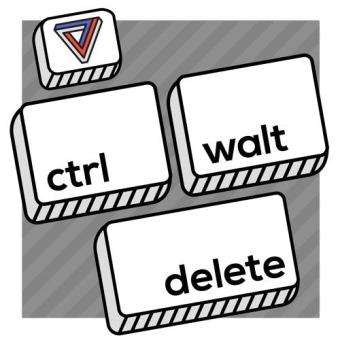 Ctrl-Walt-Delete podcast artwork