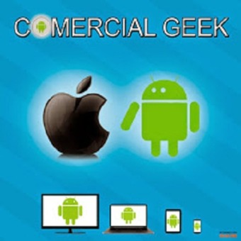 Comercial Geek podcast artwork