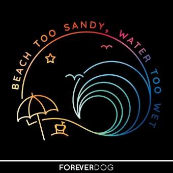 Beach Too Sandy, Water Too Wet podcast artwork