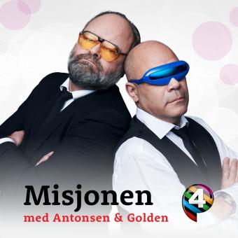 Misjonen med Antonsen og Golden podcast artwork