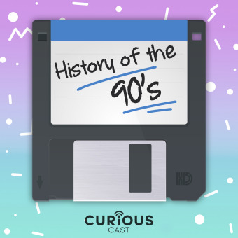 History of the 90s podcast artwork