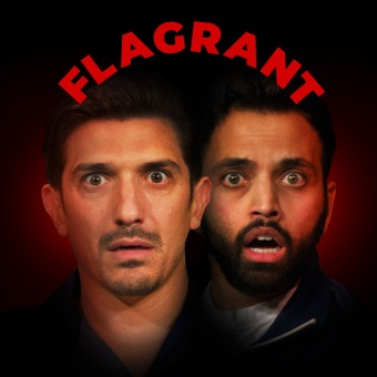 Andrew Schulz's Flagrant 2 with Akaash Singh podcast artwork