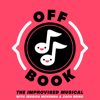 Off Book: The Improvised Musical podcast artwork
