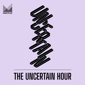 The Uncertain Hour podcast artwork