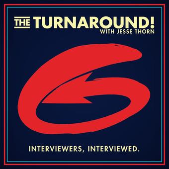 The Turnaround with Jesse Thorn podcast artwork
