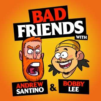Bad Friends podcast artwork