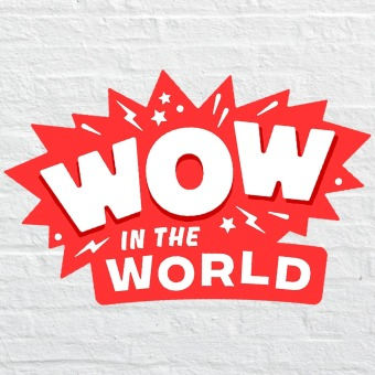 Wow in the World podcast artwork