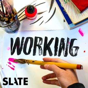 Working podcast artwork