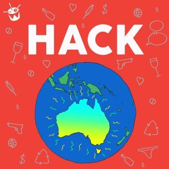 Hack podcast artwork