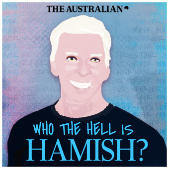 Who the Hell is Hamish? podcast artwork