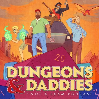 Dungeons and Daddies podcast artwork