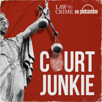 Court Junkie podcast artwork
