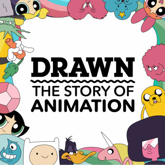 Drawn: The Story of Animation podcast artwork